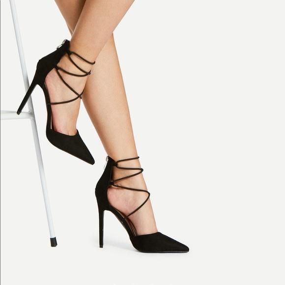 2af2ed1942 SHEIN Shoes | Strappy Heels | Poshmark